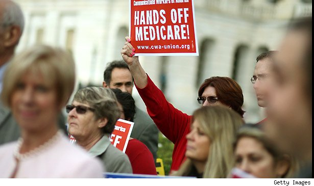 Hands off Medicare