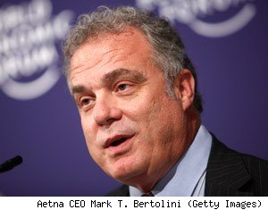 Aetna CEO Mark T. Bertolini (Getty Images)