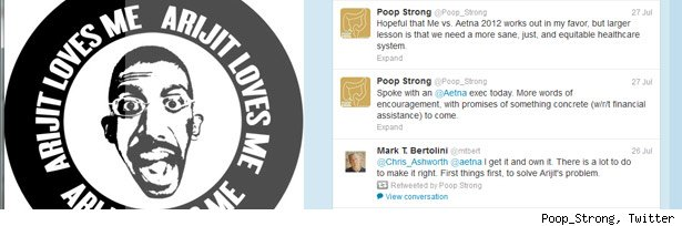 Poop_Strong, Twitter