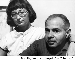 Dorothy and Herb Vogel (YouTube.com)