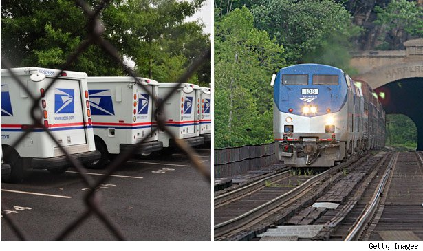 USPS vs. Amtrak