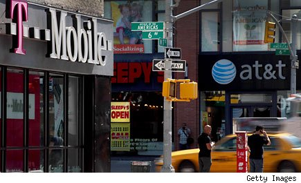 T-Mobile AT&T