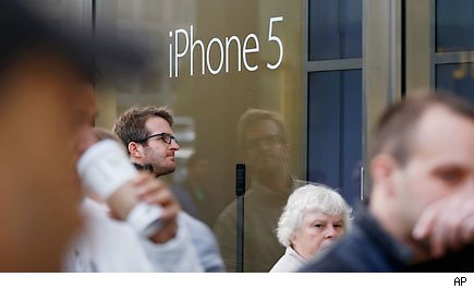 Apple cuts orders for iPhone 5 parts on weak demand: reports