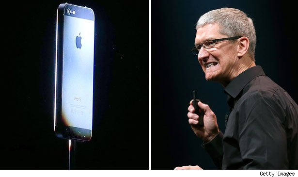 Apple officially reveals the iPhone 5