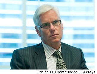 Kohl's CEO Kevin Mansell