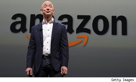 Jeff Bezos  CEO of Amazon