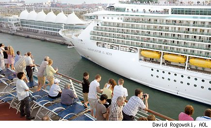 Cruise ship Royal Caribbean