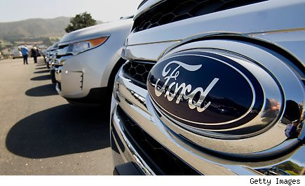 Ford Motor Company posts profits