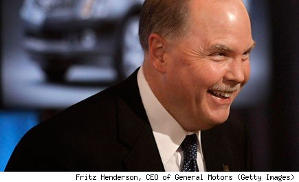 Fritz Henderson, CEO of General Motors (Getty Images)