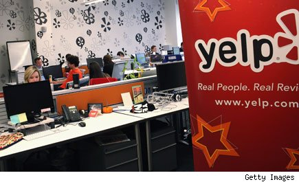 Yelp fake reviews
