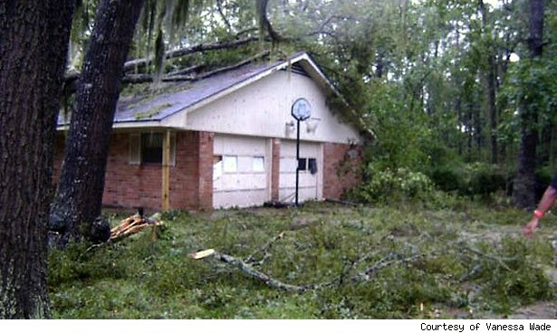 Hurricane Ike destruction