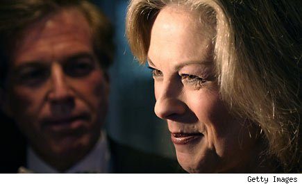 Christie Hefner's husband an insider trading Playboy