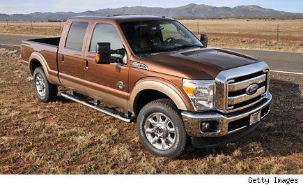 Super Duty Power Stroke Diesel pickup truck