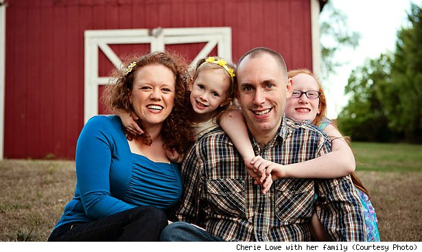Cherie Lowe with her family (Courtesy Photo)