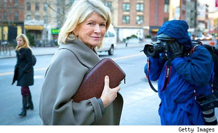 Trial of martha stewart