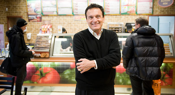 Fred DeLuca Subway Shop