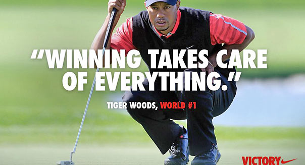 Nike / Twitter - Tiger Woods -