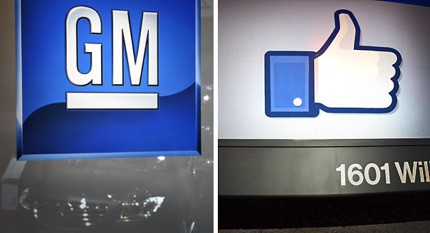 General Motors advertises on Facebook again - Getty Images