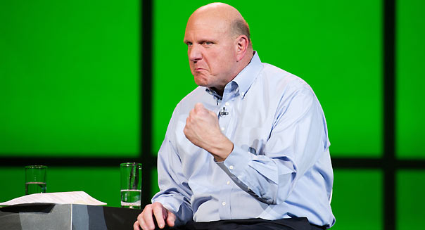 Steve Ballmer, chief executive officer of Microsoft Corp.  David Paul Morris/Bloomberg