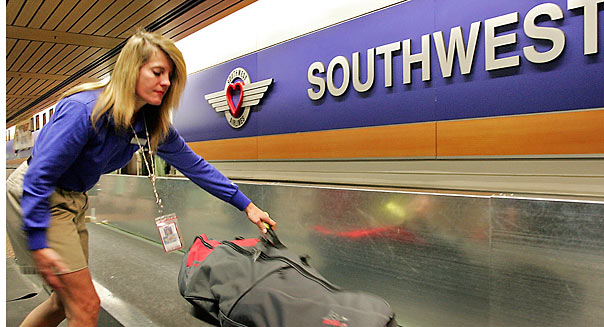 Southwest Airlines baggage