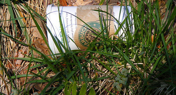 Starbucks styrofoam cup by MyNameMattersNot, Flickr.com