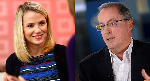 CEO Yahoo! and Intel Bloomberg, Getty Images