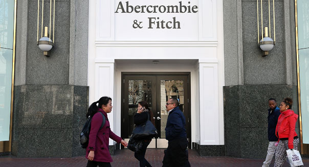 abercrombie fitch store san francisco shoppers