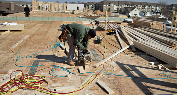 construction spending falls march economy