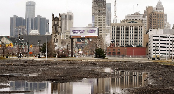 Detroit city bankrupt