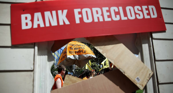 household wealth federal reserve bank foreclosed home recession