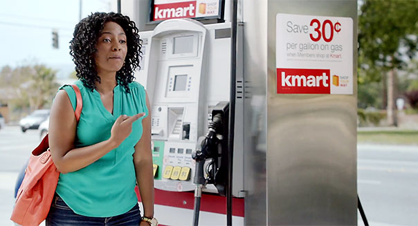 Kmart big gas problem