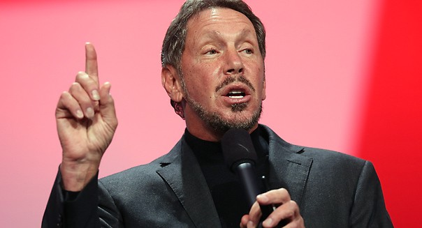 Larry Ellison CEO pay