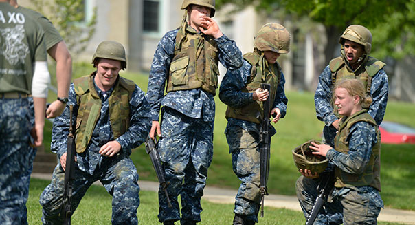 Navy soldiers
