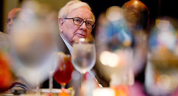 Warren Buffett dinner