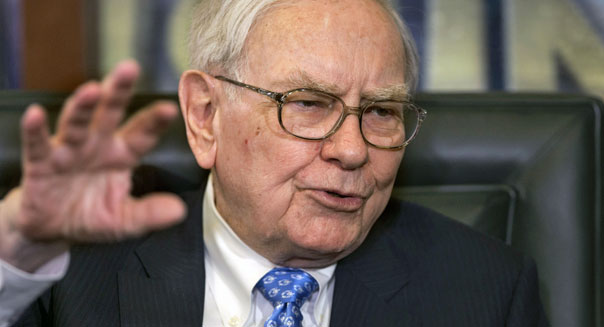 berkshire hathaway ceo warren buffett nv energy