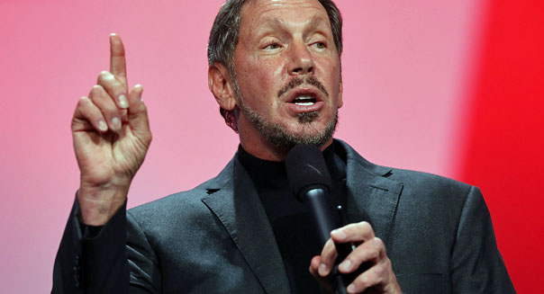larry ellison ceo oracle computer software earnings stocks
