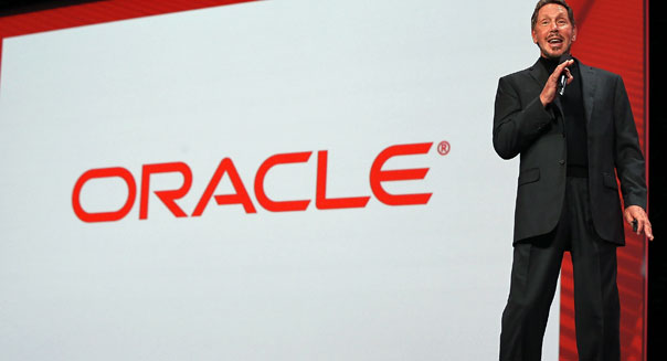 larry ellison ceo oracle computer software earnings technology