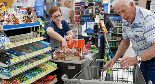 Alamy Walmart employee wages
