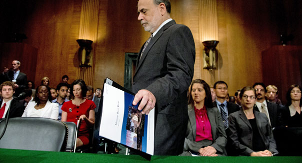 federal reserve chairman ben bernanke economy gdp earnings investing