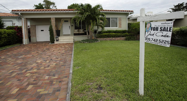 home prices real estate housing market economy recovery mortgage rates