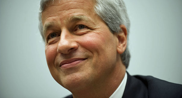 jamie dimon ceo jpmorgan chase earnings banks london whale
