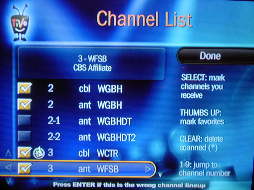 Series3 Channel List