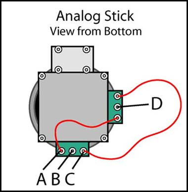 analog joystick wiring diagram analog thermostat wiring diagram