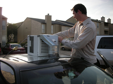 air conditioner car window. in this article: ac, air condition, conditioning, air-conditioner, aircondition, airconditioning, car, cheap, cooling, hack, mod, texas conditioner car window