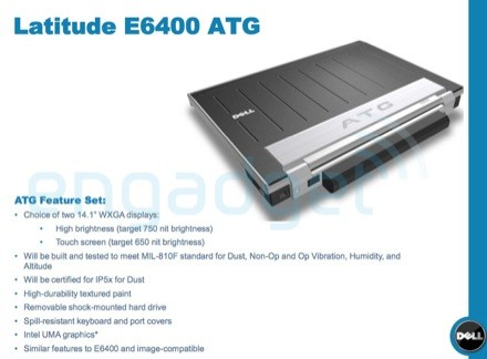 Dell's leaked E6400 ATG for mustachioed, overall types (just not Mario)