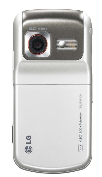LG's KC780 8 megapixel cameraphone likes your smile, not your pimples
