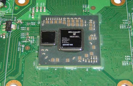 Inside an xbox 360 jasper ben heck dissects the mythical console old 90nm gpu for reference ccuart Image collections