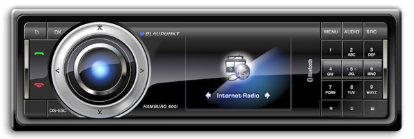 Blaupunkt shows off miRoamer-powered internet car radios