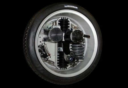 michelin 39 s e wheel eliminates gearboxes drive shaft and. Black Bedroom Furniture Sets. Home Design Ideas