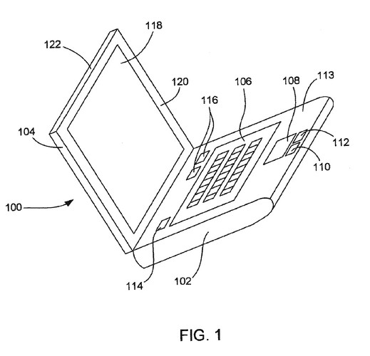 Apple patent unveils new display housing, glowy logo, sadly no tablets